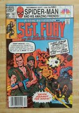 Sgt Fury and His Howling Commandos #167 Last Issue~RARE MARK JEWELER VARIANT