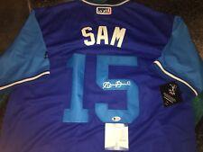 Austin Barnes Signed Los Angeles Dodgers Jersey Players Weekend Sam Beckett