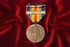 """WWI U.S. VICTORY MEDAL WITH """"DESTROYER"""" BAR"""