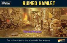 28mm Warlord Games Ruined Hamlet, Black Powder, Bolt Action, WWII BNIB