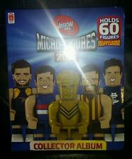 COLES 2016 AFL MICRO FIGURES ALBUM BRAND NEW UN-OPENED IN ORIGINAL PLASTIC