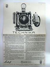 Beschreibung Linhof Kamera