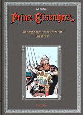 Prinz Eisenherz, BOCOLA Verlag, Hal Foster-Gesamtausgabe, Band 8, Jg. 1951/1952
