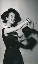 Mode 1952-55 - 6 Photos Maroquinerie Cuir Création Sac à Main - LPR 13