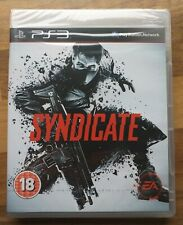 Syndicate - ps3 playstation game complete new and sealed