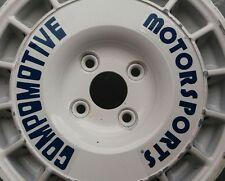 Compomotive Rad Logos. Original Compomotive Aufkleber nicht re hinten TA etc