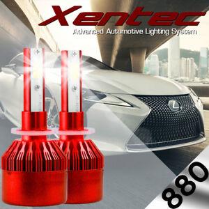 XENTEC LED HID Foglight Conversion kit 894 6000K for 1998-2000 Chevrolet C2500