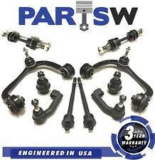 10Pc Suspension Kit for Ford & Lincoln Control Arms Tie Rod End Lower Ball Joint