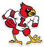 Louisville Cardinals - University of Louisville Cardinal Mascot MAGNET