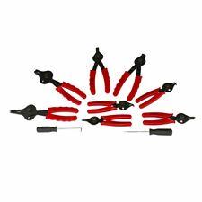 Snap Ring Plier Set 11 PC Mechanic Pro Circlips w/ Case Car Motorcycle Truck