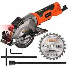 Saw Circular Laser Guide Mini Cutting Electric Tool Hand Grinder 4Amp 3500Rpm