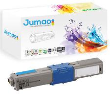 Toner cartouche type Jumao compatible pour OKI C530dn, couleur Cyan 5000 pages