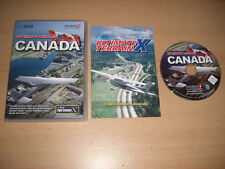 ULTIMATE TERRAIN X CANADA Pc DVD Rom Add-On Microsoft Flight Simulator Sim X FSX