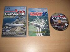 ULTIMATE TERRAIN X CANADA Pc DVD Rom Add-On Microsoft Flight Simulator Sim X FSX