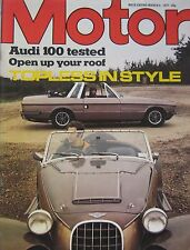 Motor magazine 5/3/1977 featuring Bristol 412, Panther Lima, Audi road test
