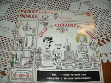 "M.CHEVALIER - H.MORGAN-F.BRICE-H.CANE "" OLD CURIOSITY SHOP "" E.P.  ITALY'60"