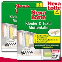 Substral Nexa Lotte 2 x 2 Stück Kleider & Textil Mottenfalle
