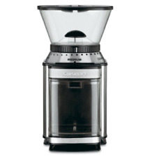 Cuisinart Coffee Grinder, Supreme Automatic Burr Mill, Dmb 8 New Stainless Steel