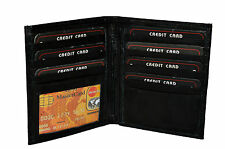 Black Friday Special - Men's leather hipster wallet with 13 credit card slots