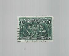 Canada 1908 Quebec Tercentenary 1c #97  Used VF $8