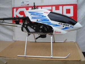 KYOSHO CALIBER 90 ZG  Helicopter with engine ZG 26 Zenoah benzin engine + Futaba