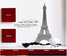 Wandtattoo Wandaufkleber Deko Paris Eiffelturm Wohnzimmer sticker#9119