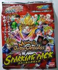 Carte Dragon Ball Z DBZ Miracle Battle Carddass Sparking Pack #Booster 2010
