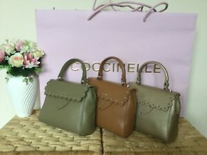 Coccinelle Mini Bag In Calf Leather