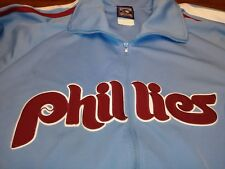 BIG/TALL 2XL/3XL PHILADELPHIA PHILLIES  MLB COOPERSTOWN COLLECTION TRACK JACKET