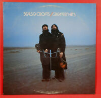 SEALS & CROFTS' GREATEST HITS LP 1975 ORIGINAL PRESS GREAT CONDITION VG++/VG+!!B