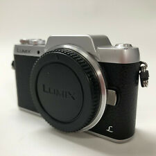 Panasonic LUMIX DMC-GF7 Digital Camera - Silver w/ Charger and Battery **READ**
