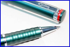 1990s NOS rOtring esprit ROLLERBALL pen tourmaline green with box
