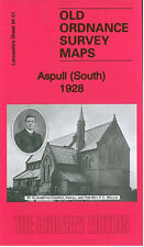OLD ORDNANCE SURVEY MAP ASPULL SOUTH 1928