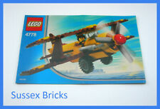 Lego City Town - 4778 - Desert Biplane Airline Promotional Set Instructions Only