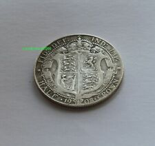 1908 King  Edward VII Half Crown Coin. 92.5% SILVER Birthday  Anniversary