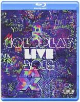 COLDPLAY Live 2012 BLU-RAY & CD BRAND NEW Region ALL