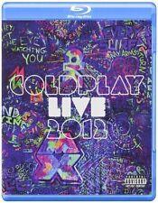 COLDPLAY Live 2012 BLU-RAY & CD BRAND NEW Region ALL