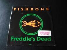 "FISHBONE...FREDDIE'S DEAD...PROMO STICKER 7"" 45...MINTY WAX...SKA PUNK ROCK FUNK"