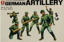 Bandai 1:48 German Artillery Plastic Figure Kit #8245U