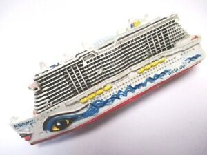 Ship Model Cruise Ship Ms Aidanova Aida, 4 11/16in Poly Cruise Ship, New