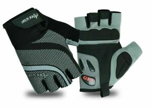 Cycling Mens Gloves Bike Half Finger Bicycle Padded Fingerless Sports