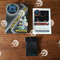 SPACE ATTACK  (  Atari 2600 ) CIB Complete in Box
