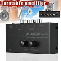 PP500 HiFi Phono Vorverstärker Plattenspieler Turntable Technics 1210 NEU IN OVP