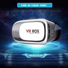 VR BOX VR02 Wearable Virtual Reality Mobile Cinema 3D Glasses Black & White