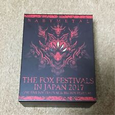 BABYMETAL THE FOX FESTIVALS IN JAPAN 2017 THE ONE Limited Blu-ray set of 6 USED