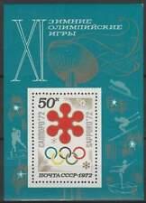 CCCP / USSR postfris 1972 MNH block 74 - Olympische Spelen Sapporo