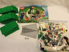 LEGO INCOMPLETE #3409 FOOTBALL (SOCCER) CHAMPIONSHIP CHALLENGE...w/ ADIDAS BALL