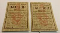 Vintage B & W cigarette coupons!  3000+ coupons Raleigh and Belair