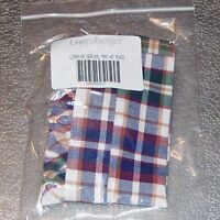 Longaberger Woven Traditions Plaid SMALL SERVING TRAY Basket Liner ~ Brand New!