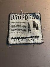 [9031 - PA1] Patch tissus pour t-shirt - coton - Punk- Dropdead
